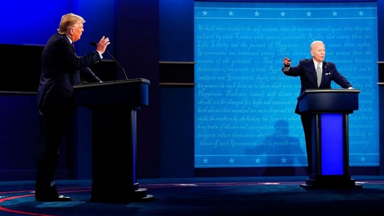 Covid, racismo y violencia, fueron algunos de los temas en el primer debate presidencial de Estados Unidos entre Donald Trump y Joe Biden