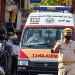 violación india ambulancia coronavirus