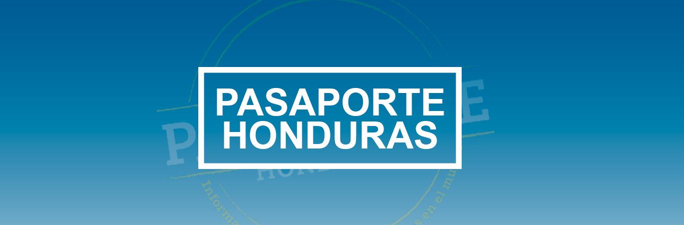 Pasaporte Honduras