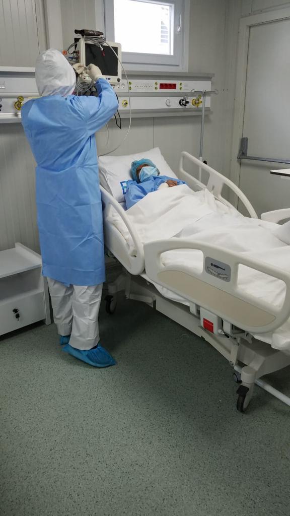 Paciente es atendido