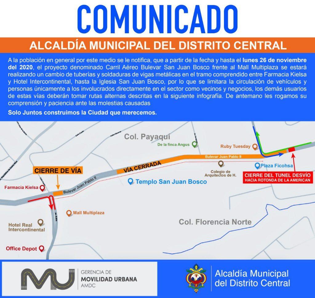 Comunicado de la AMDC