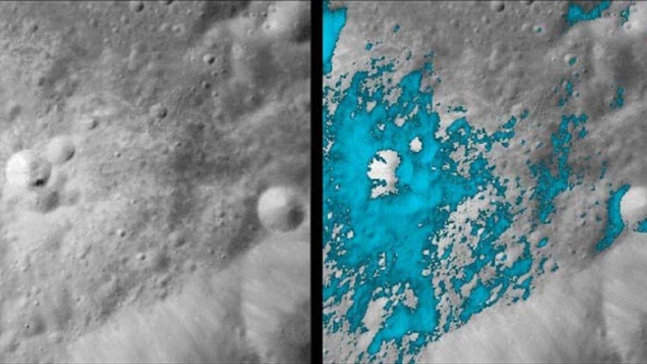 Agua en la Luna: el nuevo descubrimiento que ha revelado la NASA