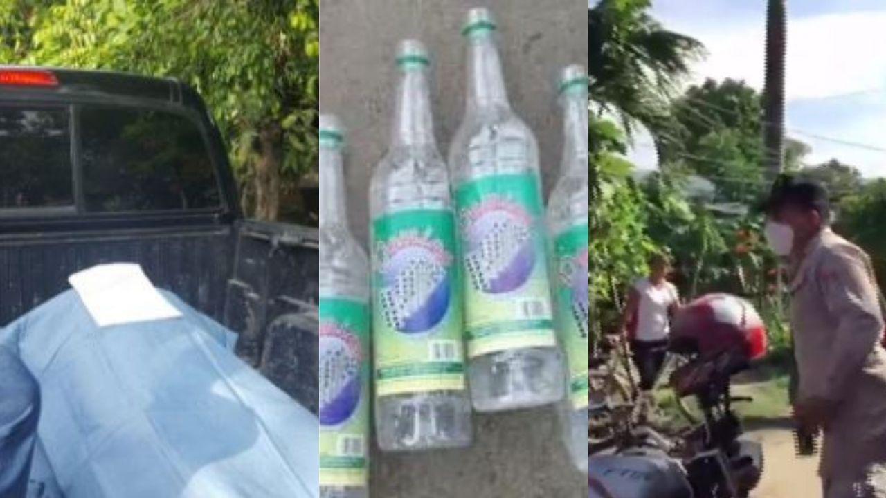 A 12 aumenta cifra de muertes por intoxicación con alcohol adulterado en Choloma; conozca los síntomas que presentaron