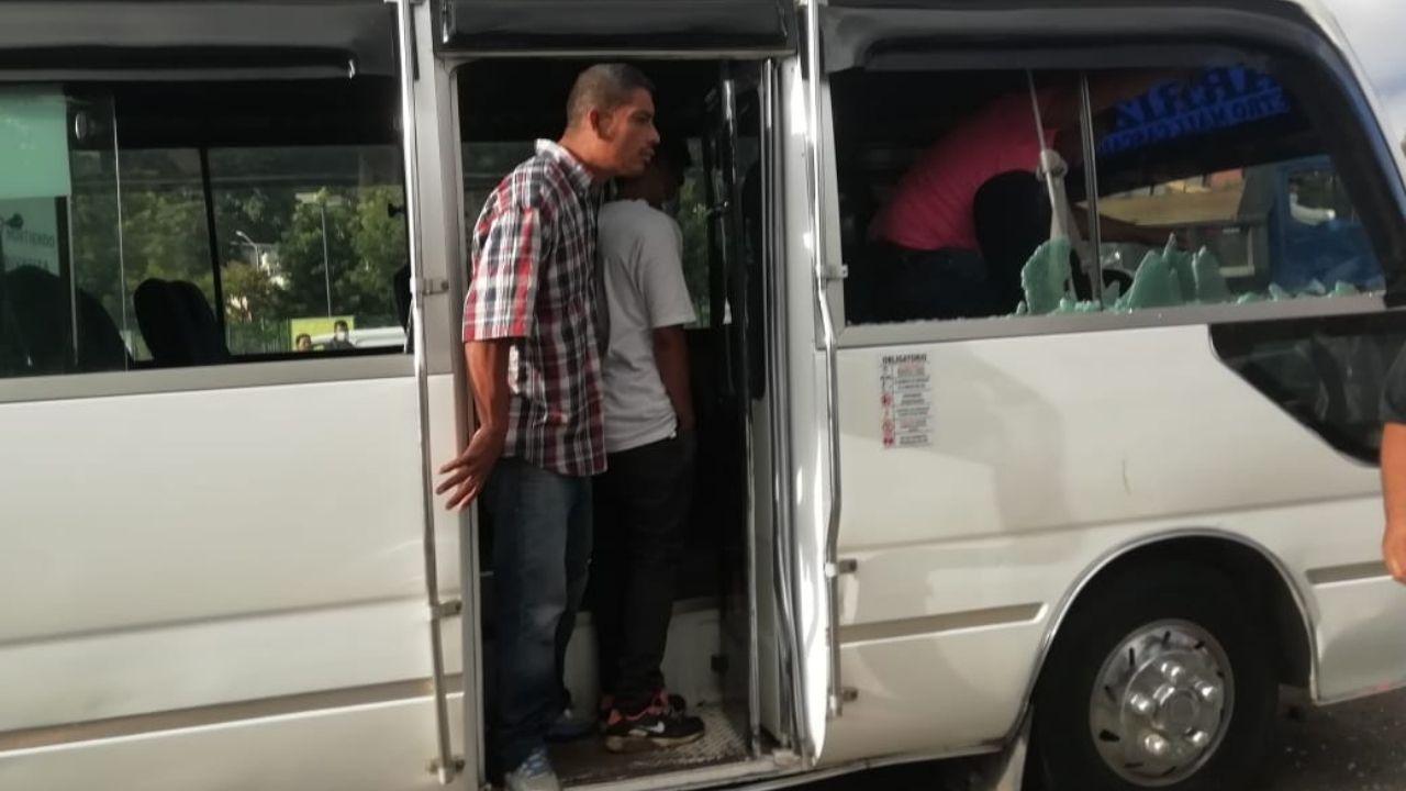 Matan a conductor de bus de la ruta Carrizal - La Sosa en el bulevar Fuerzas Armadas de la capital