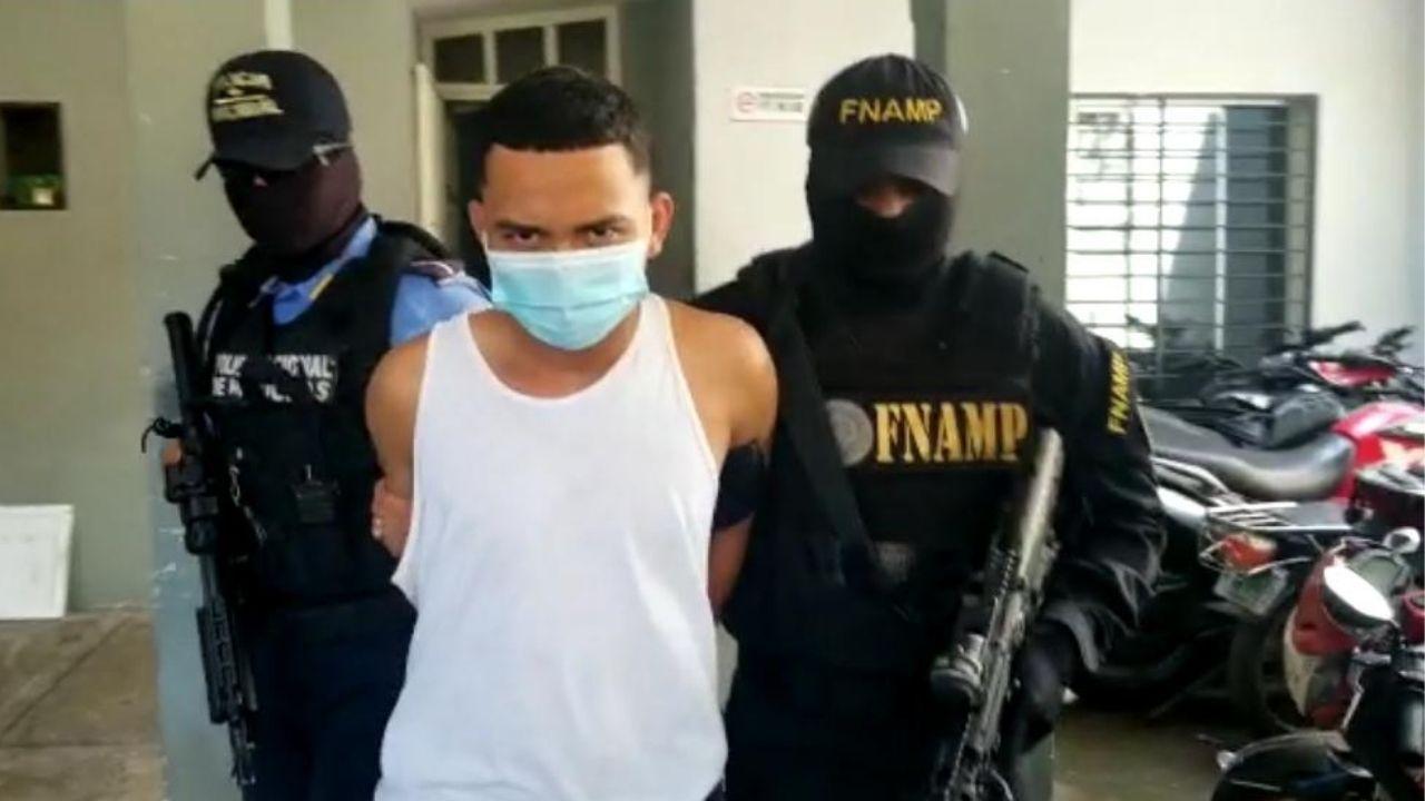 Capturado alias 'El Suicida' supuesto sicario de la Pandilla 18 en San Pedro Sula