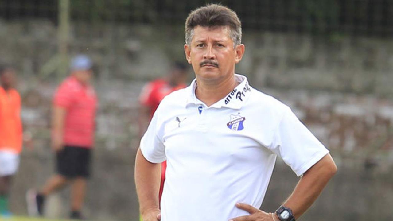 Entrenador del Honduras del Progreso está satisfecho por empate ante el Platense