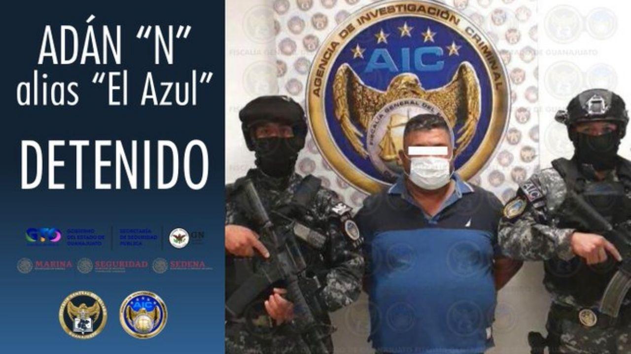 Los delitos que se le atribuyen a alias 'El Azul', el segundo al mando del cártel mexicano Santa Rosa de Lima