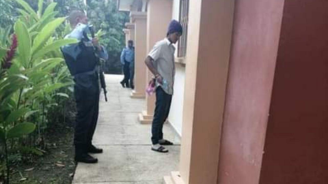 Hondureño quien golpeó a su hijo de dos años, fue capturado cuando vigilaba al niño en una larga agonía en el Materno Infantil