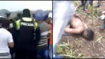 Matan a golpes a violador