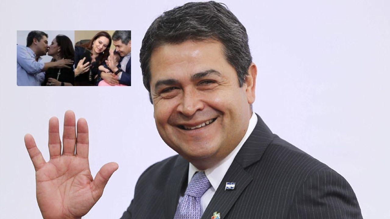 Primera dama de Honduras envía tierno mensaje a Juan Orlando Hernández el día de su cumpleaños, mira cómo lo sorprendió