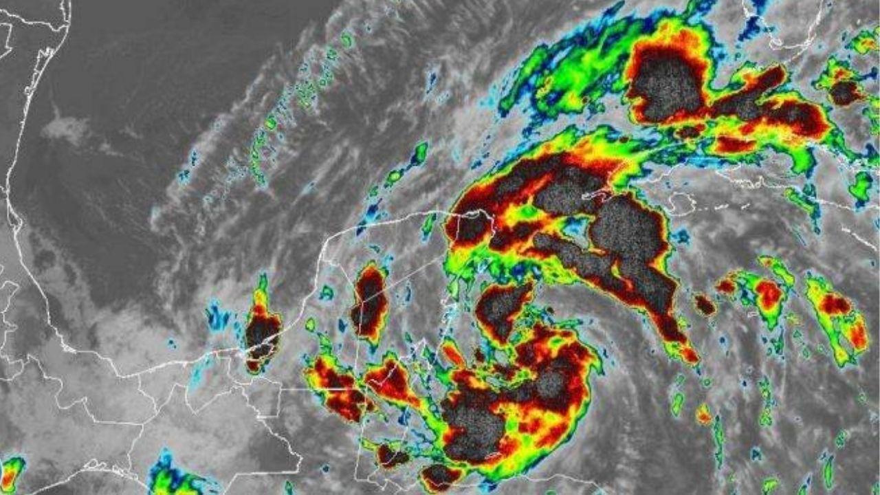 Decretan alerta roja en seis departamentos de Honduras por tormenta tropical Gamma