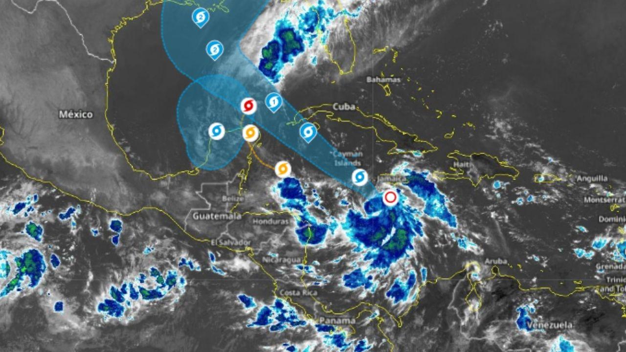 Delta pasa a ser huracán y podría dejar lluvias en Honduras