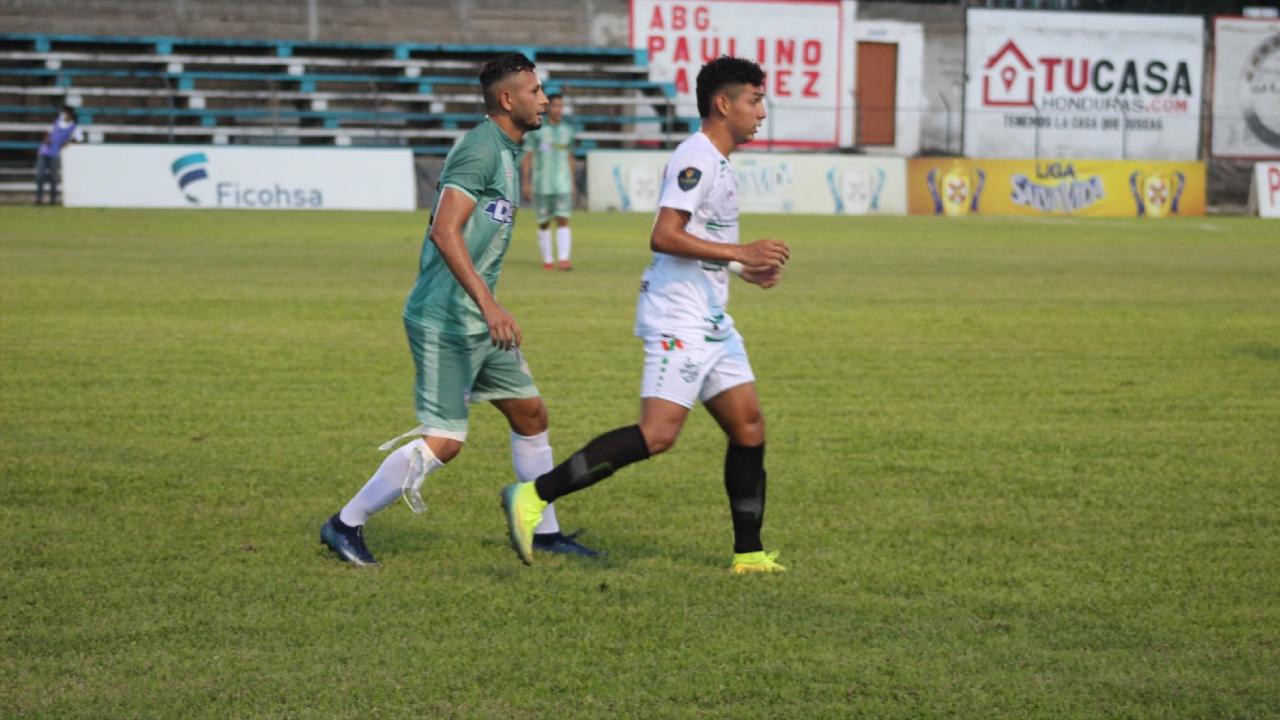 Real de Minas empata 1-1 ante el Platense en Danlí
