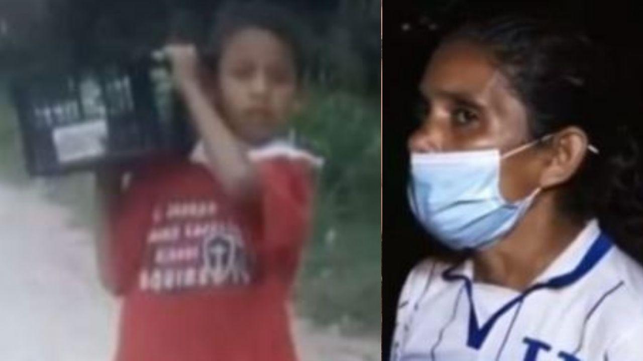 Desesperada madre hondureña busca a su hijo de 10 años, desaparecido hace dos semanas en la colonia Reynel Fúnez