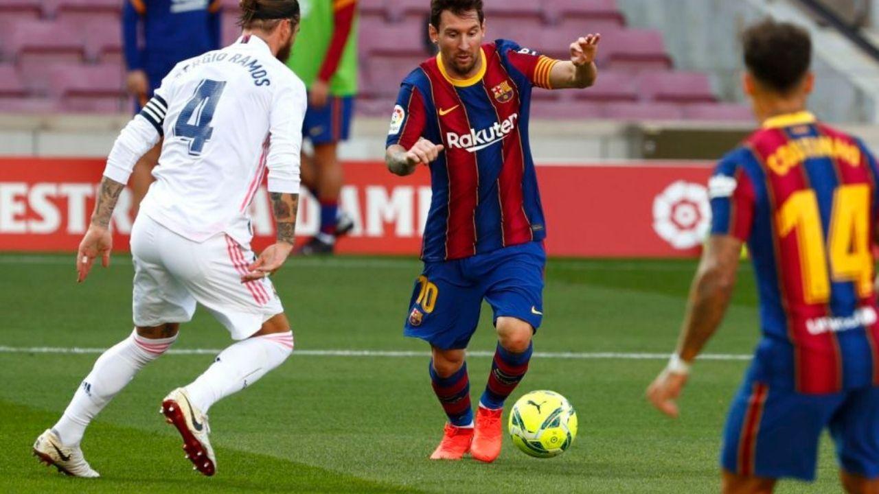 Barcelona cae en casa 1-3 ante el Real Madrid