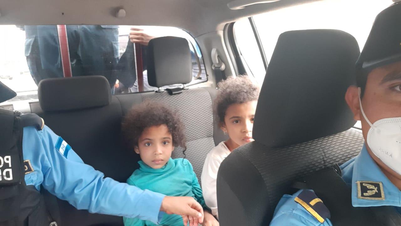 Encuentran a dos niñas reportadas como desaparecidas en Tegucigalpa