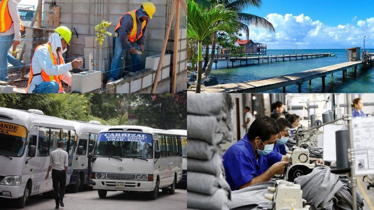 En segundo trimestre: Manufactura, construcción, transporte y turismo con peores signos de riesgo por crisis