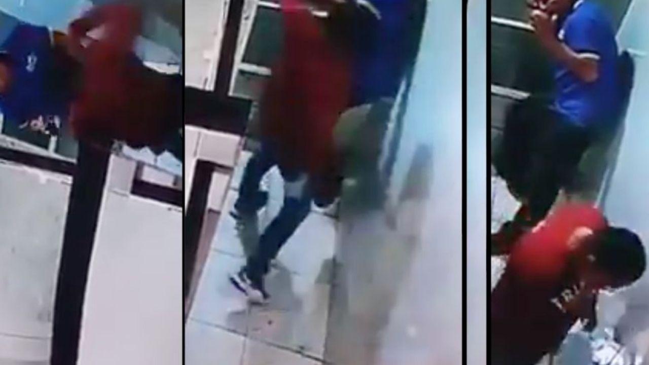 En vídeo quedó registrado brutal ataque de taxista mexicano contra un abuelito, quien murió horas después