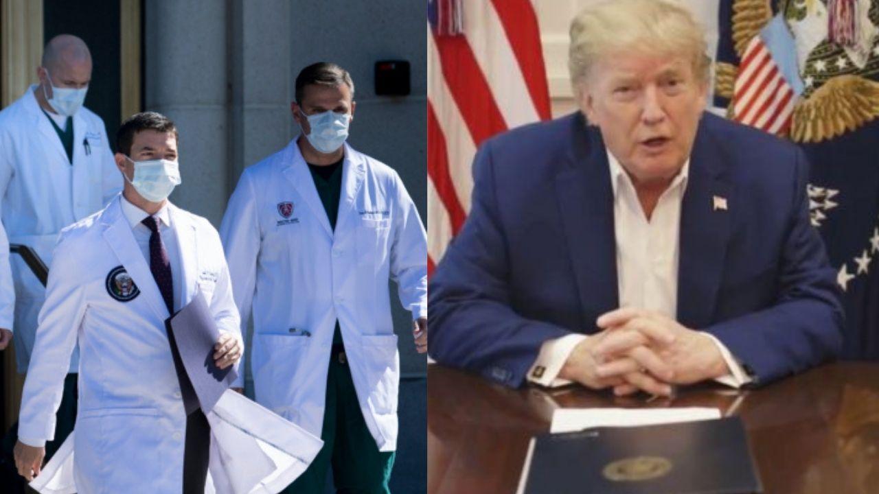Trump volvería a Casa Blanca, su situación es 'estable', según reporte médico