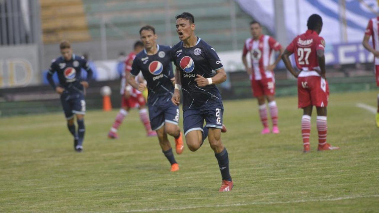 Motagua le gana al Vida 3-0 y lidera el grupo B del Torneo de Apertura 2020