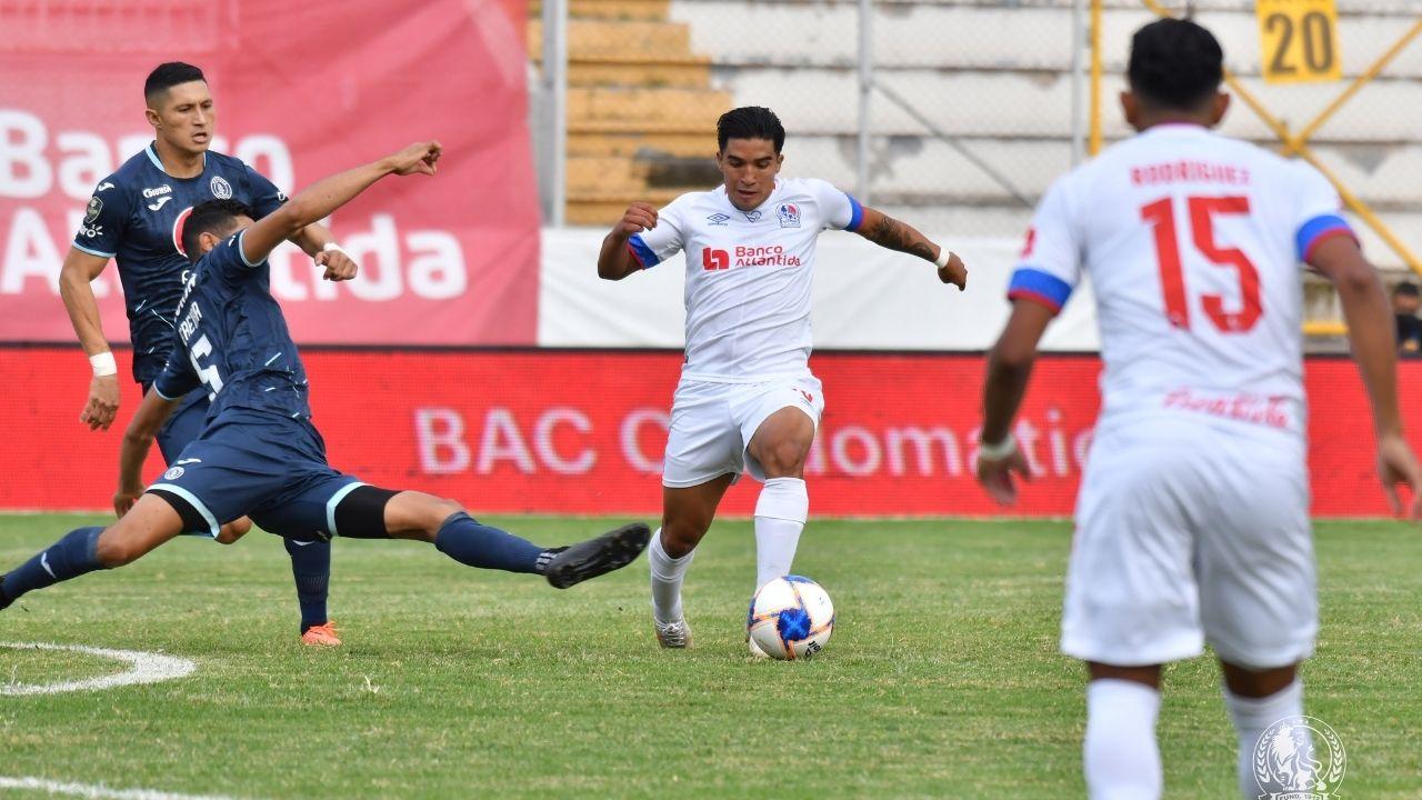 Olimpia se impone ante el Motagua 2-1 en el clásico capitalino