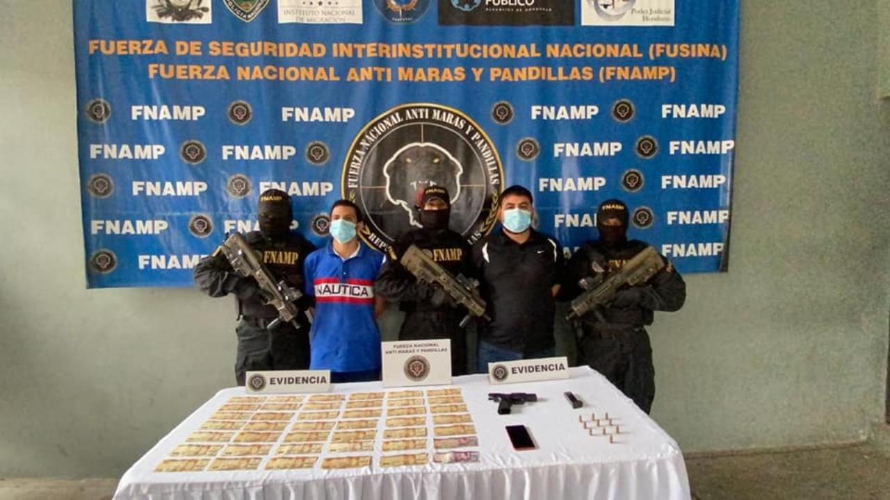 Detienen a dos miembros de la banda MS-13 por suponerlos responsables de sicariato y extorsión en Honduras