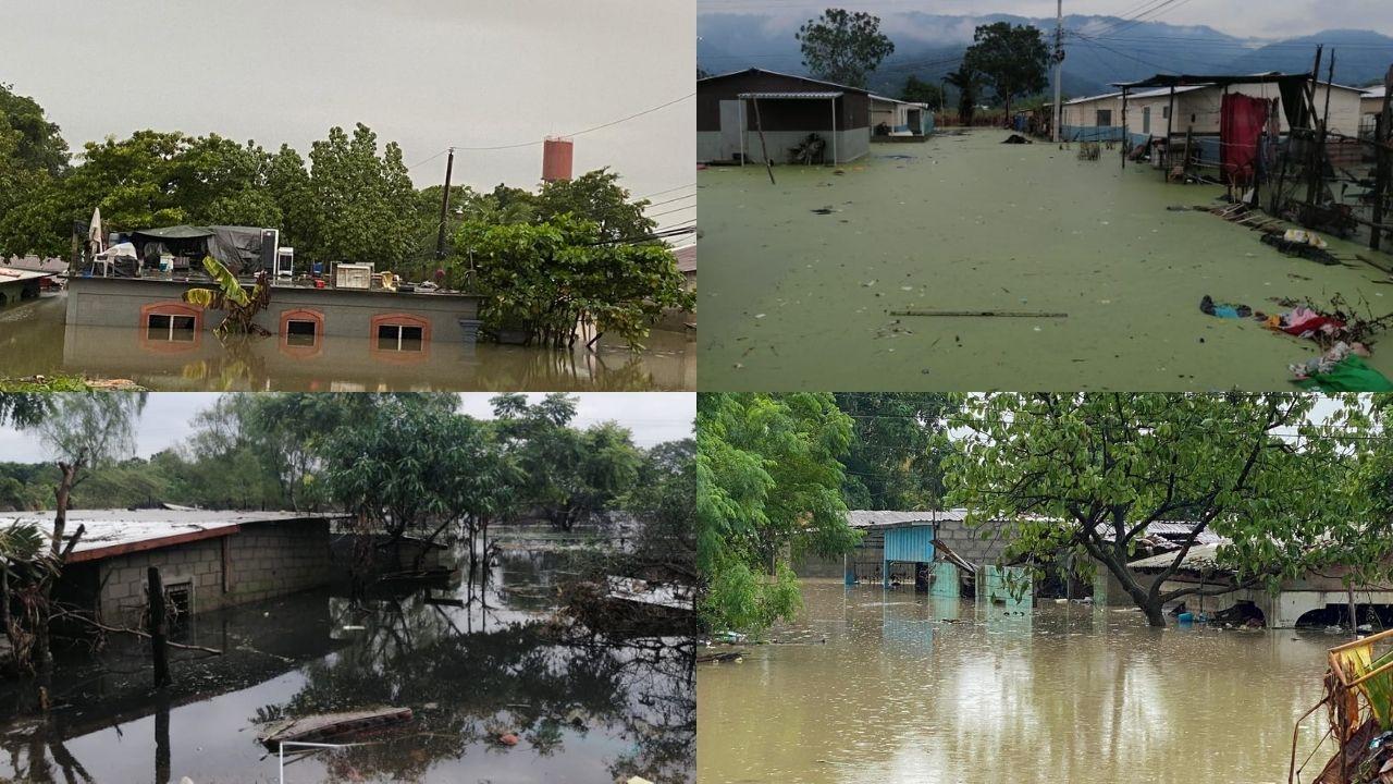 Imágenes no vistas del rastro devastador de Iota y Eta en Honduras