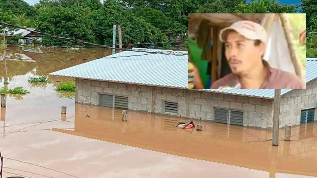 'El agua nos llegaba hasta el cuello y la corriente estaba fuerte': hondureño relata cómo logró salir junto a su familia de las inundaciones por Iota
