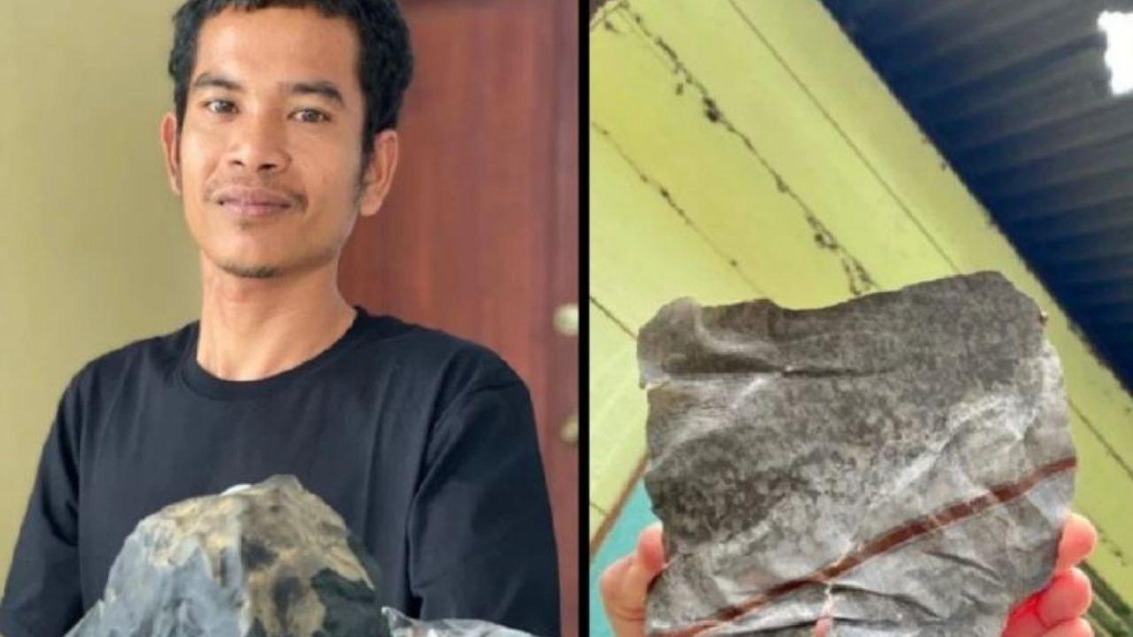 ¡Le cae fortuna del cielo! Meteorito impacta en casa de un hombre y lo vuelve millonario