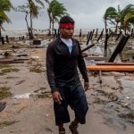 huracán iota nicaragua
