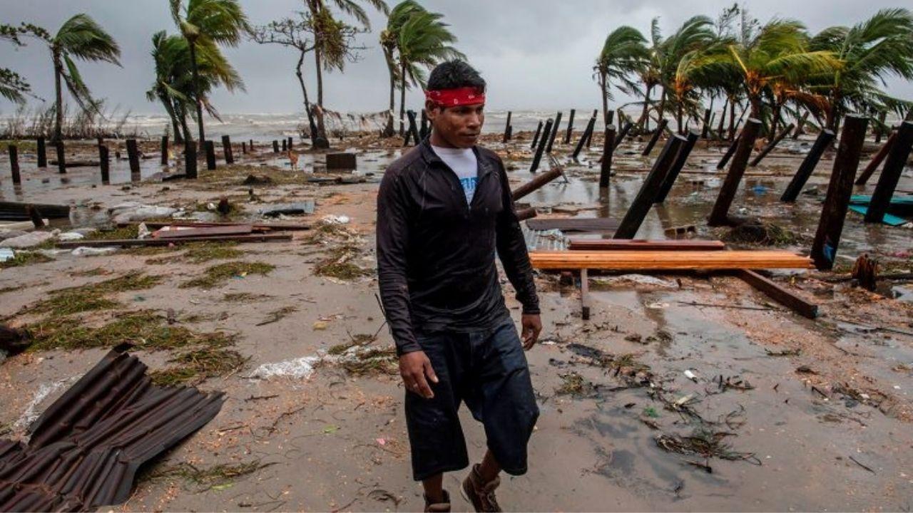 'Fue como una película de terror, parecía una guerra', relatan nicaragüenses tras el paso devastador del huracán Iota
