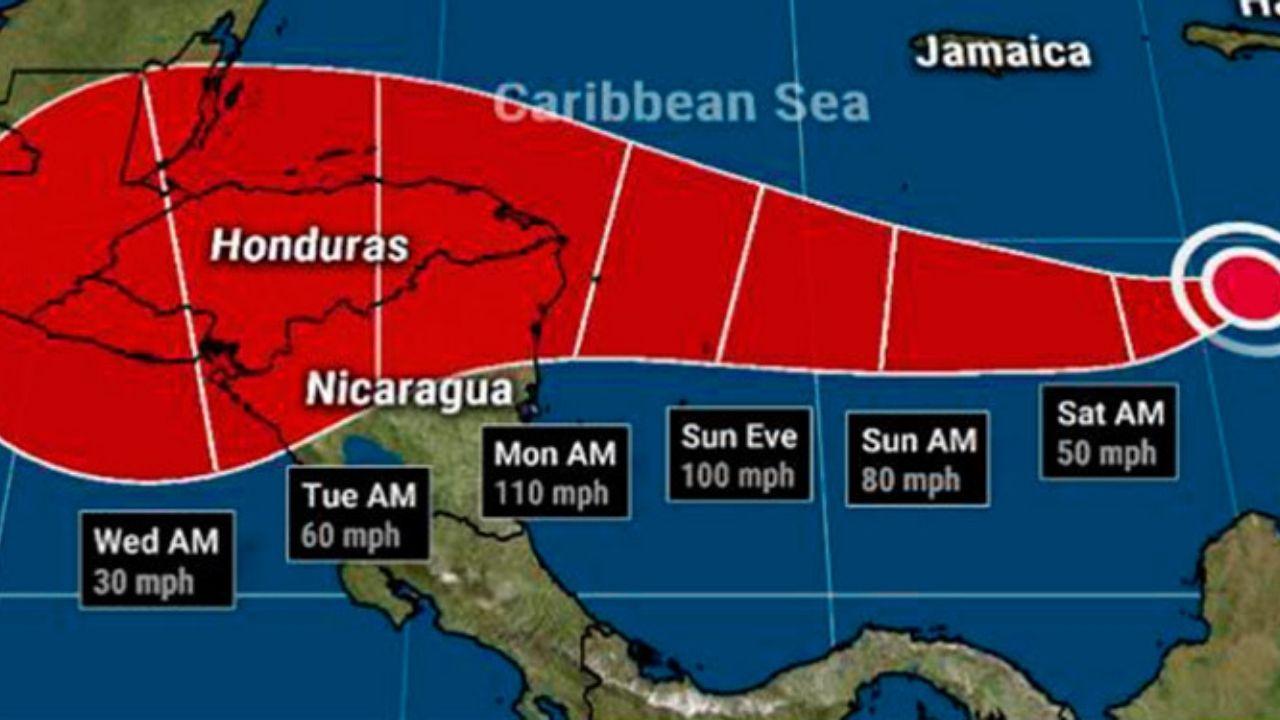 ¿Cuánto días estará la tormenta tropical Iota en Honduras?