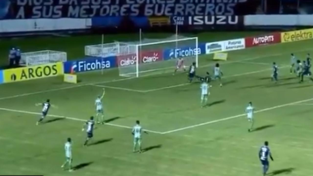 Motagua venció 2-1 al Real de Minas y se mantiene líder del grupo