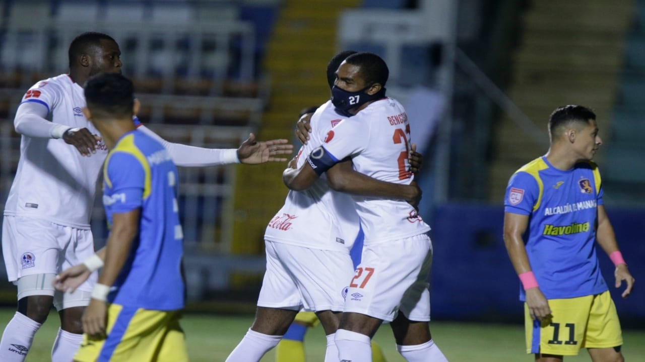 Olimpia pasa sin problemas sobre Managua FC y se verá las caras contra Motagua en los cuartos de Liga Concacaf