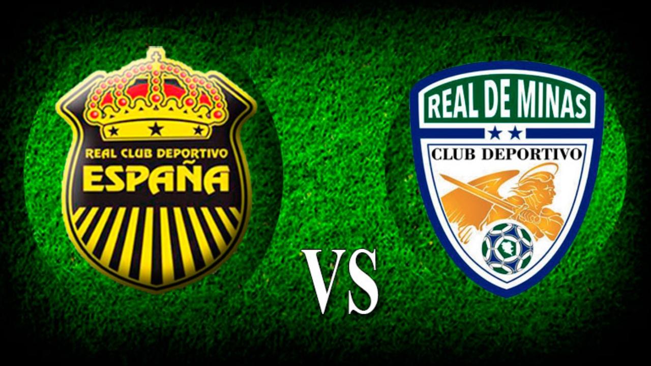 Real España y Real de Minas empatan 1-1 en el estadio Morazán