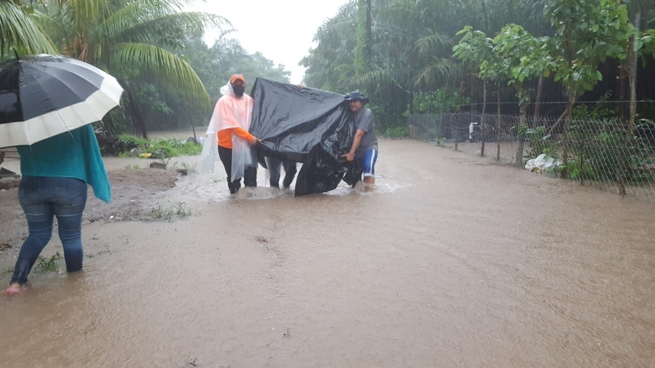 Por el departamento de El Paraíso ingresará la tormenta tropical Eta a Honduras