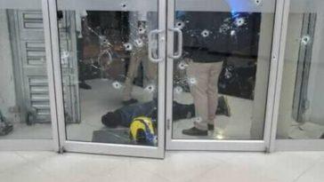 asalto en agencia bancaria en yoro, honduras