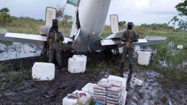 Avioneta con droga en Honduras
