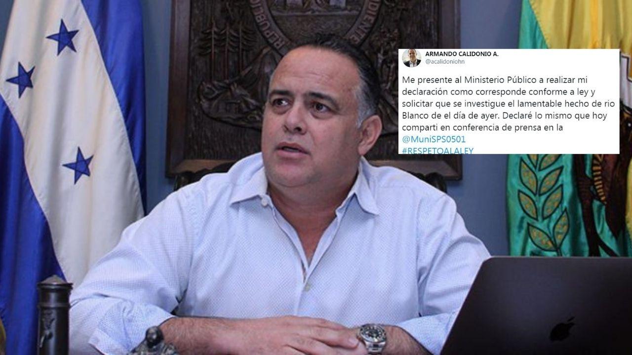 Calidonio declara ante el MP en relación a la muerte de joven 'carwashero' durante un desalojo en el bordo del río Blanco