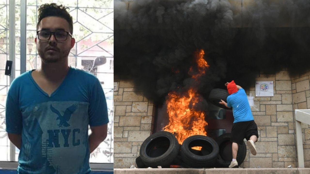 Declaran culpable al hondureño Rommel Herrera por incendiar la embajada de Estados Unidos