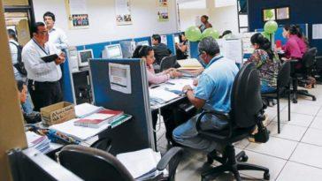 empleados públicos en honduras
