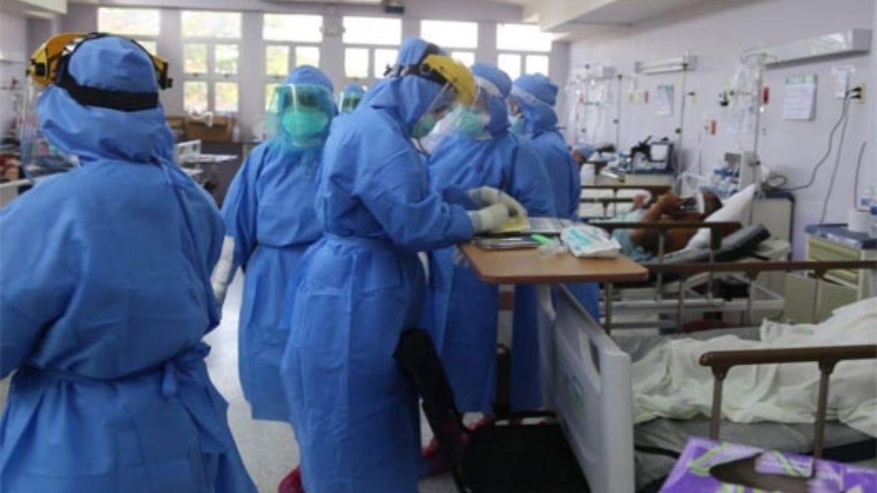 Hospitales de San Pedro Sula abarrotados de pacientes covid en la última semana de 2020