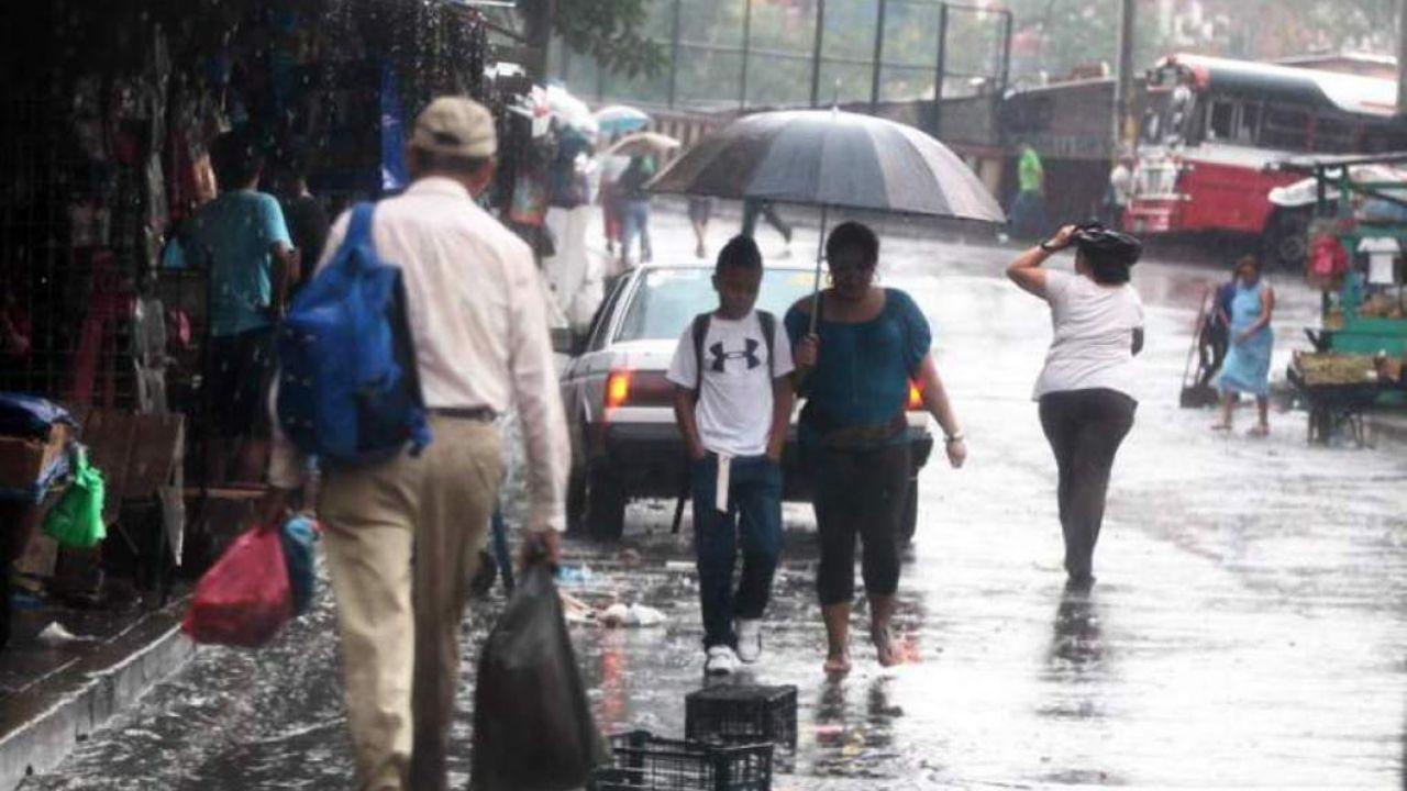 Siete departamentos de Honduras registrarán lluvias por desplazamiento de masa de aire frío débil