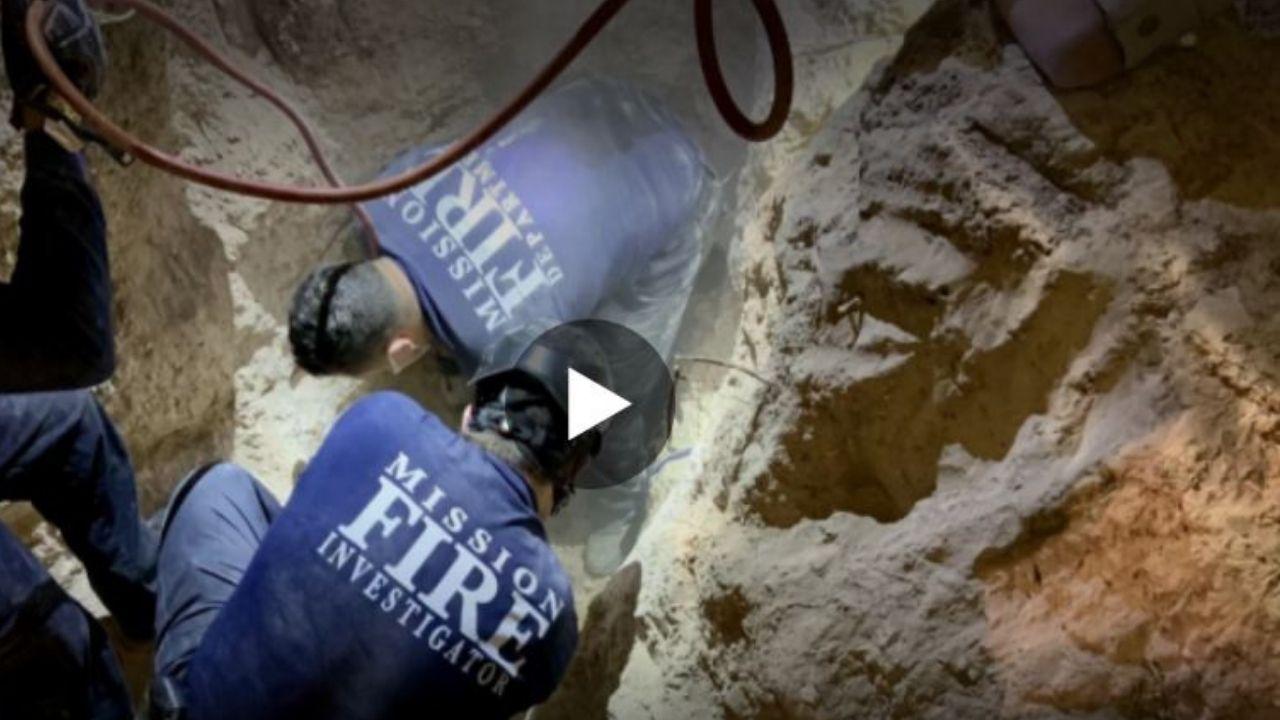 Video muestra el dramático rescate de un niño que cayó a un pozo de más de 13 metros en Texas