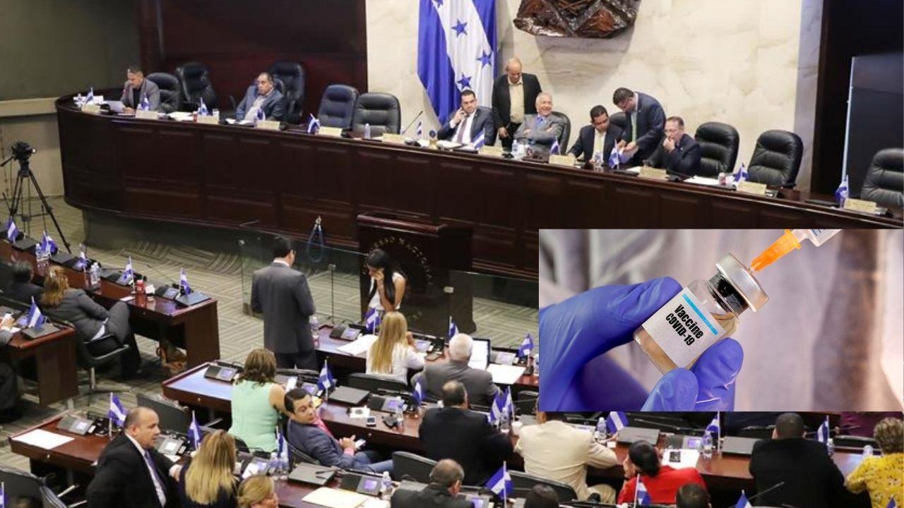 Revelan supuesta lista de diputados de Libre y del Partido Liberal que dijeron 'no' a la vacuna gratuita contra el covid