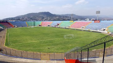 estadio nacional en tegucigalpa