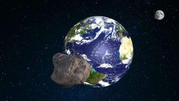 planeta tierra se acerca asterioide