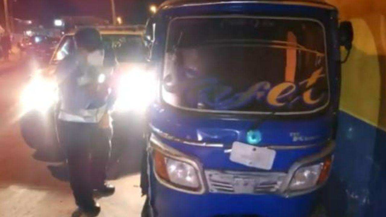 Bebé murió trágicamente tras choque de motos en Tegucigalpa
