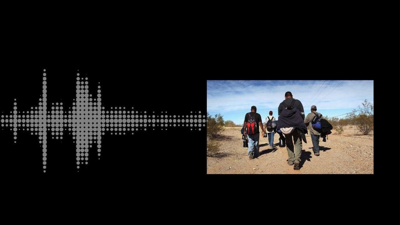 'Están advertidos cuando les estén sacando el hígado': supuesto coyote mexicano envía mensaje a hondureños de la caravana