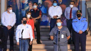 autoridades hondureñas